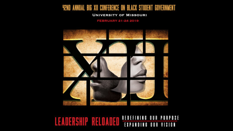 Big XII Conference graphic featuring the theme of