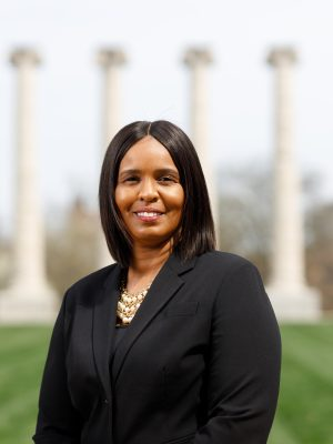 This is an image of Velma Buckner, coordinator at the GOBCC.