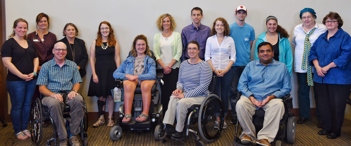 Group photo of Chancellor's Committee on Persons with Disabilities