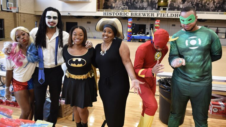 Participants enjoying Fall Fest 2019: Comicon