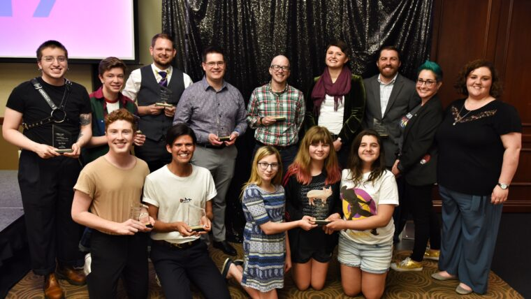 Group photo of the 2019 Catalyst Award winners