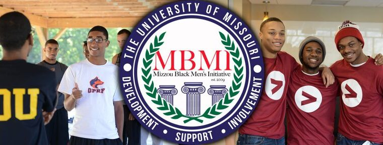 Images of Black men working with MBMI in various capacities. Some posing, some candid.