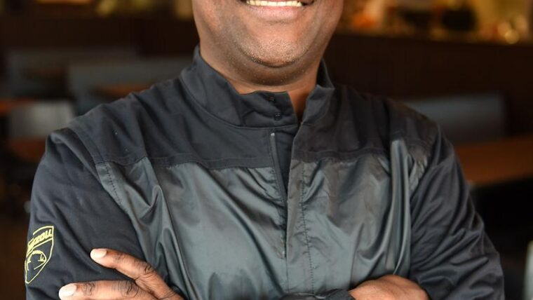 Headshot of Michael Williams in a gray Mizzou pullover jacket.