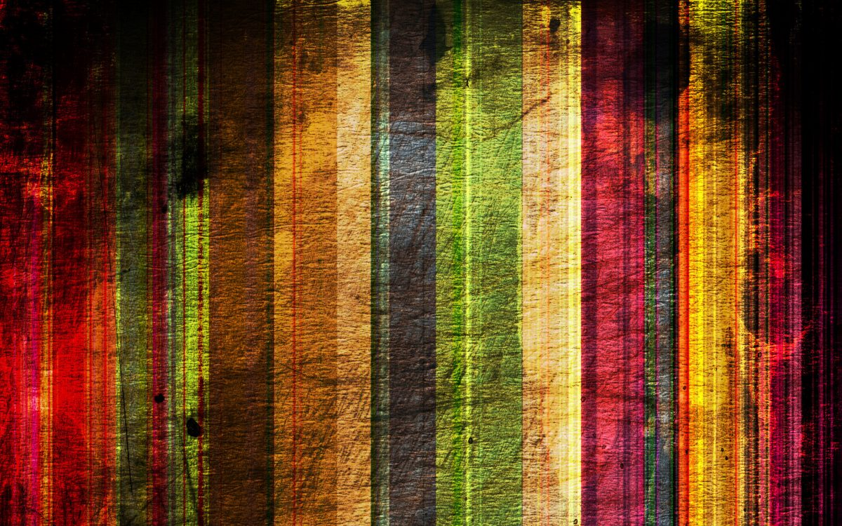 art: multicolor vertical stripes
