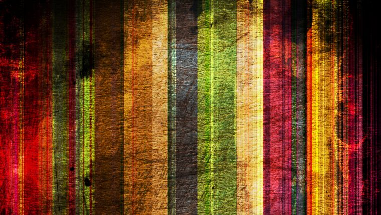 art: multicolor vertical stripes