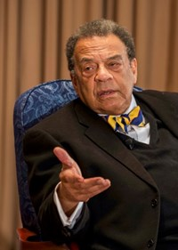 This is an image of Ambassador Andrew Young.