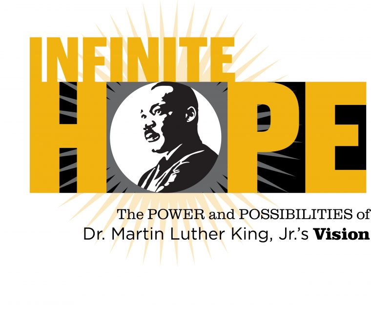 This is an image of the logo lockup of MU Celebrates MLK Day 2021.