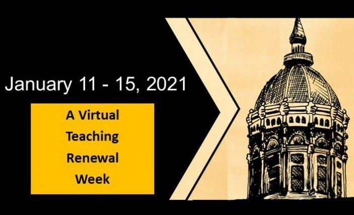 This is banner image of Teaching Renewal Week 2021.