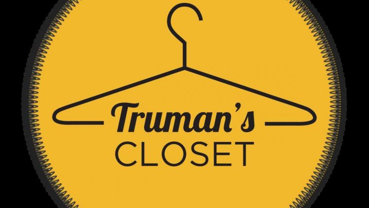 This is the logo lockup of Truman's Closet.
