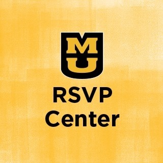 This is the logo lockup for the RSVP Center.