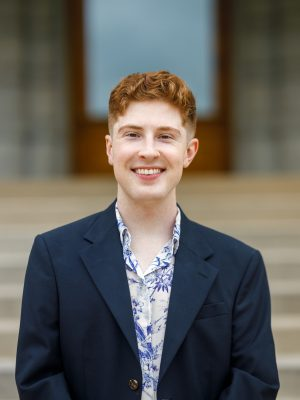 This is a headshot of Patrick Skrivan who works for the Department of Social Justice.
