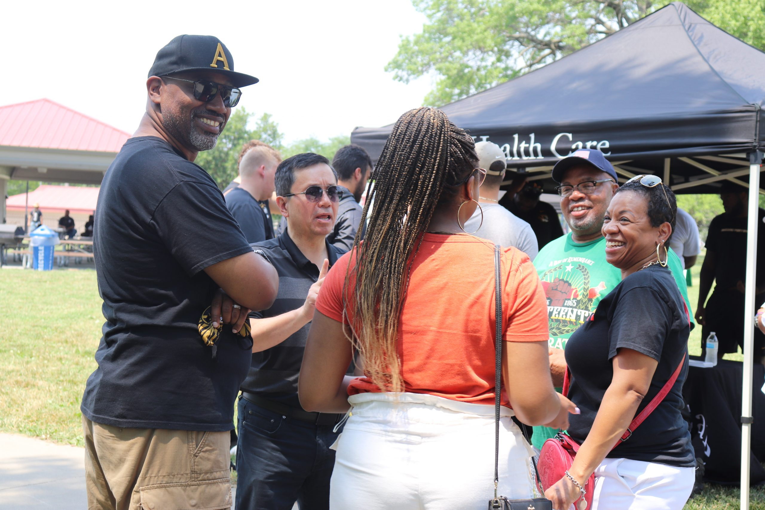 This is a photo from the 2021 Juneteenth celebration.