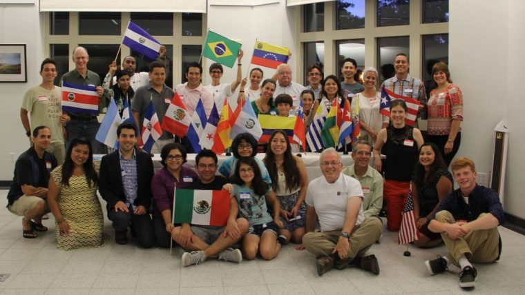 This is photograph from MU Voz Latina at one of their former events pre-COVID 19.