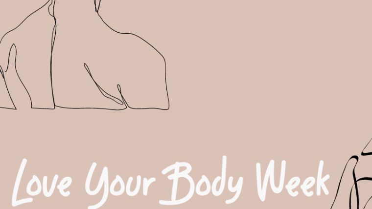 This is an image of the graphic for Love Your Body Week.